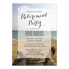 retirement party invitations retire on the retirement party invitations zazzle