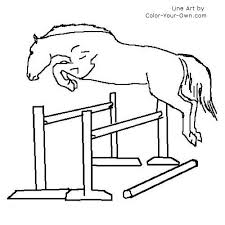 printable 21 horse jumping coloring pages 3890 free coloring
