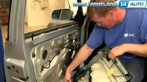 how to install replace remove front door panel volkswagen passat