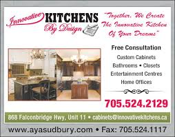 innovative kitchens by design inc sudbury on 868 falconbridge
