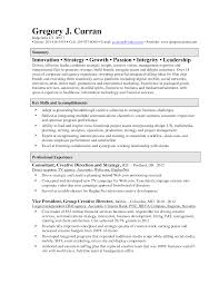 Board Of Directors Resume Sample by Creative Director Resume Samples Free Resumes Tips