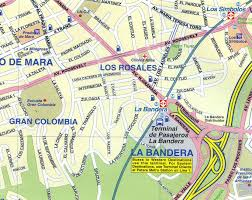 Venezuela Map Venezuela Itm City Map