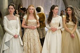 reign u0027s costume designer on dressing cw characters in vintage and
