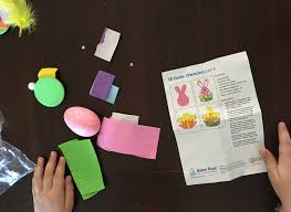 cleverpatch easter themed craft kits for kids and sew we craft