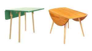 Drop Leaf Table For Small Spaces Small Drop Leaf Table Vintage Small Drop Leaf Table And 2 Chairs