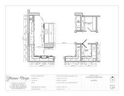 beautiful kitchen drawings plan 2cs 13455