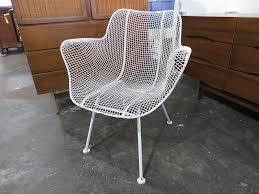 Patio Lounge Furniture by Details About Russel Woodard Sculptura Wire Mesh Patio Lounge