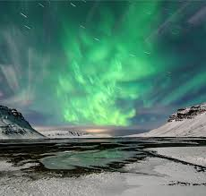 iceland in january northern lights causes the northern lights