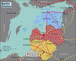 World War 1 Map Of Europe Baltic States U2013 Travel Guide At Wikivoyage