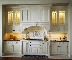 Kitchen Cabinet Glass Doors Cabinets U0026 Drawer Farmhouse Kitchen Americana White Kitchen