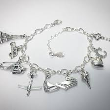 heart charm bracelet sterling silver images Anastasia 50 shades inspired charm bracelet charm factory jpg