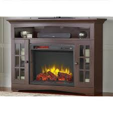 tv stands tv stand with electric fireplace reviews stone