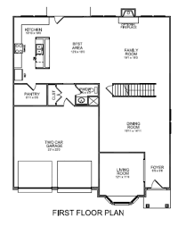 Two Family Floor Plans by Floor Plans