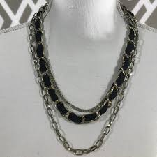 fashion chain necklace images Unknown 3 layer fashion chain necklace jpg