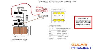 How To Make Led Lights Gulam Project How To Make Led Lamp At Home With Led Smd 5730