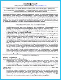 Cognos Resume Sample by Incredible Formula To Make Interesting Business Intelligence Resume