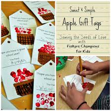 Simple Fall Crafts For Kids - jennuine by rook no 17 sweet u0026 simple apple tags a fall