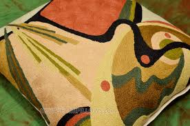 Throw Pillows Sofa by Kandinsky Throw Pillow In The Flow Decorative Wool Hand