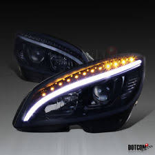 mercedes headlights headlights for mercedes benz c350 ebay