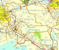 Louisiana Parish Map by St Martin Parish Center For Louisiana Studies
