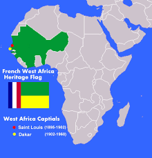 The France Flag The Voice Of Vexillology Flags U0026 Heraldry French West Africa