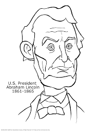 awesome abraham lincoln coloring pages 85 on picture coloring page