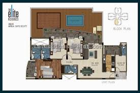 house plans with separate apartment 2500 sqft large 3 bhk apartment floor plans with separate helper