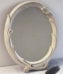 shabby chic oval mirror shabby chic oval 8
