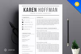 contemporary resume template modern resume template resume templates creative market pro
