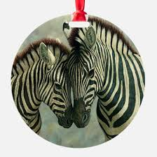 zebra ornament cafepress