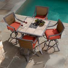 ty pennington palmetto 5 piece patio high dining set limited