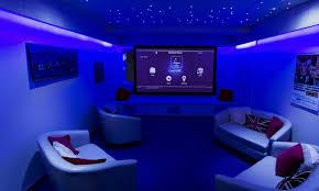 home theater certification wall light modern living room indoor design ideas interior custom