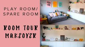 home tour play room spare room youtube
