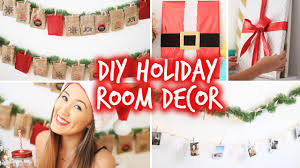 Easy Ways To Decorate Your Room For Christmas Diy Holiday Room Decor Wall Decor U0026 Christmas Advent Calendar