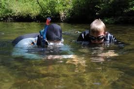 Tennessee snorkeling images Snorkelers explore a hillbilly barrier reef in cherokee national jpg