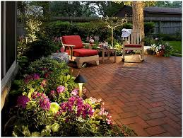 small patio ideas on a budget backyard back natural brick and