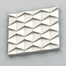 wall panel 3d model tiles cgtrader