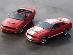 2007 Black Mustang Ford Mustang Shelby Gt500 Convertible 2007 Pictures