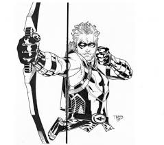 the amazing in addition to interesting green arrow coloring pages