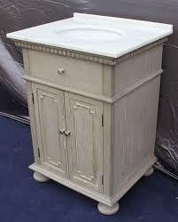 10 Inch Wide Bathroom Cabinet Holbrook Single 26 Inch Transitional Bathroom Vanity Whitewash