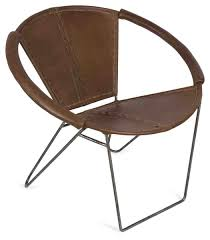 Leather Bucket Chair Leather Chair With Arms And Iron Legs April U0026 Oak