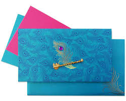 hindu wedding invitations online www regalcards now showcasing this magnificent peacock theme