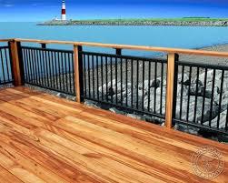 imposing decoration metal deck railing ideas exciting 20 creative