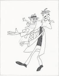 perry the platypus and dr doofenshmirtz by mrblue8 on deviantart