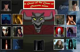 Scary Ghost Meme - the 13 scary ghost of the chest of demons by deathhetaliabutler on