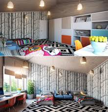 Retro Bedroom Designs by Artsy Room Ideas Hesen Sherif Living Room Site