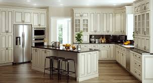 Home Decorators Online Cabinetry Holden Bronze Glaze For - Glazed kitchen cabinets