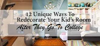 blog commenting sites for home decor 12 unique ways to redecorate your kids room after they go to college