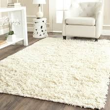 Square Shag Rug Safavieh Hand Woven Posh Ivory Wool Shag Rug 8 U0027 Square Forter