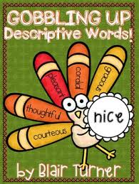 free gobbling up descriptive words for dec tree